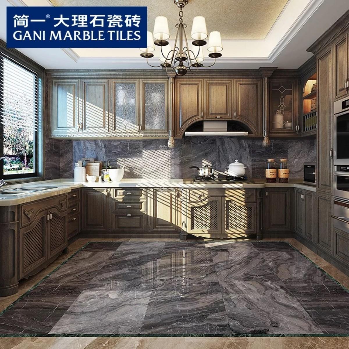 简一大理石瓷砖 皇室灰 客厅卧室厨房卫生间瓷砖防滑地砖现代