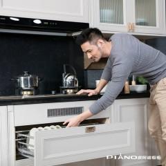 皮阿诺橱柜 印象江南 新中式 开放式整体厨柜定制