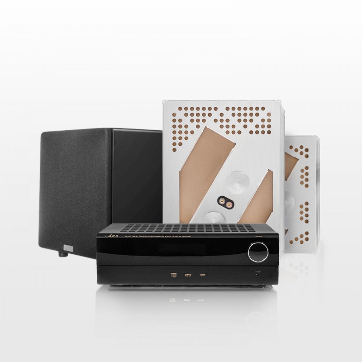 阿米纳 AMN 隐形式家庭影院7.1声道套装 家用音响系统