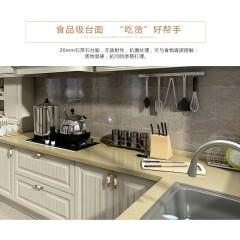 欧派整体橱柜定制厨房橱柜装修石英石台面北欧风特琳娜预付金