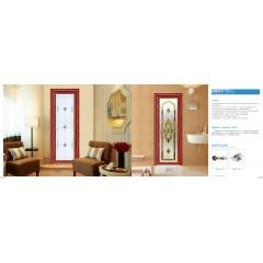 亚材门窗 唯美系列 平开门 卫生间门 书房门 卧室门