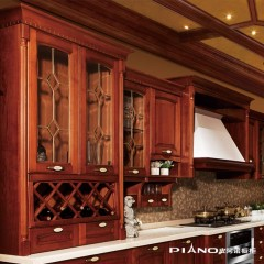 皮阿诺橱柜 爱丁堡 欧式风格开放式整体厨柜定制