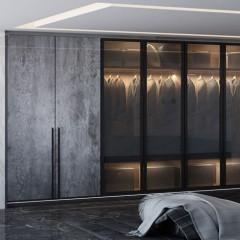 VIFA 威法 高端定制橱柜衣柜 - 钛金灰 衣柜