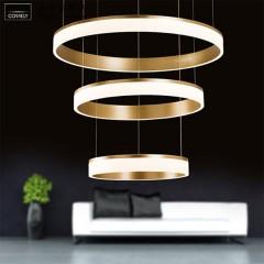欧思灯饰 呢喃LED吊灯 艺术现代灯具简约圆形组合大厅餐厅时尚个性创意灯饰