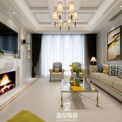 嘉俊陶瓷 柔光砖800x800客厅卧室瓷砖餐厅地砖通体大理石瓷抛石卡曼米黄