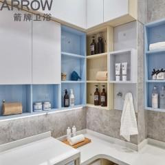 箭牌卫浴定制空间系列北欧风情现代经典系列风格美学定制创意浴室
