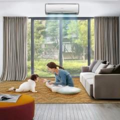 Mitsubishi/三菱重工 KFR-25GW/EKCV1Bp 1匹 家用直流变频挂壁式 冷暖空调挂机 二级能效