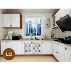 欧派橱柜定做整体厨房橱柜组装石英石台面厨房北欧阳光预付金