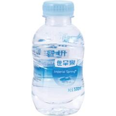 世罕泉天然苏打水500ml整箱装(24瓶)