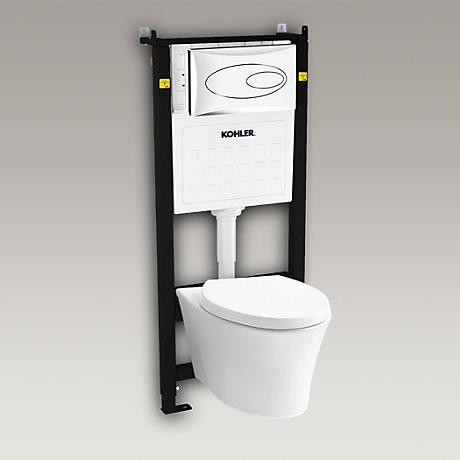 VEIL维亚挂墙式座便器(海德丽100机械水箱)