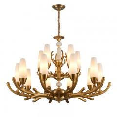 星宇达邦灯饰  美式客餐厅吊灯  古铜色