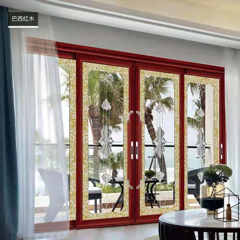 亿合门窗(EEHE)钛镁硅铝合金门室内客厅房门简约金皇系列推拉门